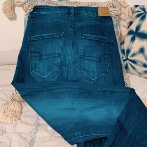 American Eagle High-Waisted Skinny Jeans